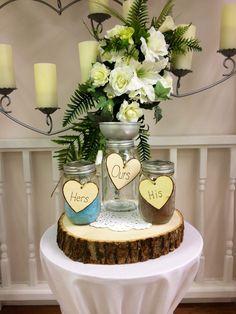 Mason Jar Sand Ceremony Ringgold Wedding SuiteChapel of Love