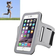 Insten Neoprene Exercise Armband Case with Built-in Key Holder for Apple iPhone 6 #2037121