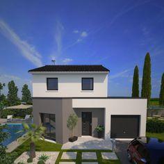 Plan maison neuve à construire - Maisons France Confort Eco Concept 88 G