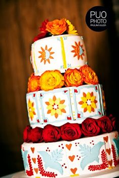 Posts about Mexico Wedding Inspiration written by Sayulita Dream Weddings Pretty Cakes, Cute Cakes, Beautiful Cakes, Amazing Cakes, Gay Wedding Cakes, Wedding Cake Designs, Do It Yourself Wedding, Wedding Inspiration, Wedding Ideas