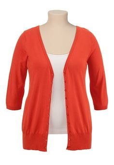 V-Neck Button Front Cardigan available at #Maurices