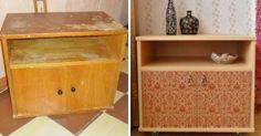 Обновите старую советскую мебель за несколько шагов: 20 интересных идей