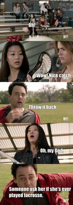 Teen wolf Kira funny again