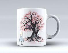 Alice in Wonderland Coffee Mug Tea Mug Coffee Cup Funny Mug