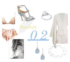 Second Boudoir by missadenae11 on Polyvore featuring polyvore fashion style Blue Nile Agent Provocateur Badgley Mischka Delmar clothing