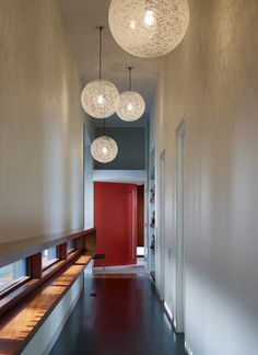 Contemporary lighting ideas hall lighting ideas hallway pendant lighting modern and hall ideas contemporary dining room Entryway Lighting, Foyer Lighting, Entryway Decor, Wall Decor, Lighting Ideas, Lighting Design, Pendant Lighting, Pendant Lamps, Wall Lamps