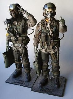 Awesome post apocoliptic soldier gear