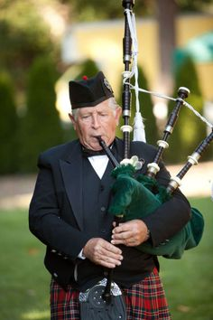 53c674813a Definitely need a bagpiper to lead the procession  ) Tartan Wedding