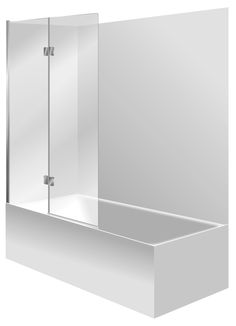 """100% acrylic Fibreglass reinforced 15mm pressed upstand Generous showering / bathing area Contoured for comfortable bathing. One piece acrylic lining. Set Includes - Bath, Acrylic Liner & Bathscreen. 1000mm water protection 2 Panel Swing Bathscreen Bathscreen. Available in """"Silva"""" or Black Bath surface"""