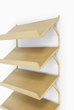 Bruno Mathsson wall mounted bookcase at Studio Schalling
