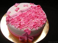 virágos torták - Google Search