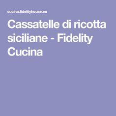 Cassatelle di ricotta siciliane - Fidelity Cucina