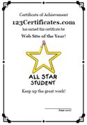 Certificate Templates And Award Certificate Maker Create Awards