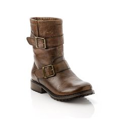 Sasha Leather Boot Cognac ummm gotta pin this one obviously