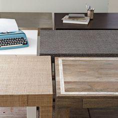 parsons desk. west elm.
