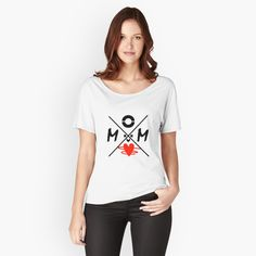 """"""" Milky Design"""" T-shirt by mom , Graphic T Shirts, Loose Fit, T Shirt Fun, Sup Yoga, Vintage T-shirts, Picasso, Chiffon Tops, Sleeveless Tops, Shopping"""
