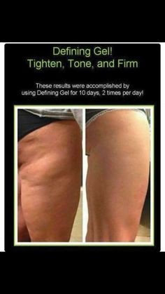 Results from our defining gel