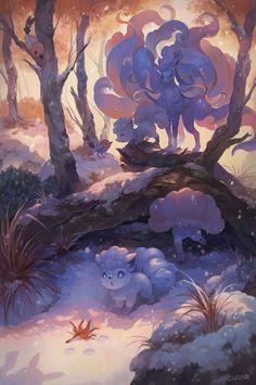 Beautiful alolan vulpix and ninetails pokemon fan art! Beautiful alolan vulpix and ninetails pokemon fan art! Pokemon Fan Art, Pokemon Legal, Guzma Pokemon, Pokemon Tattoo, Ninetales Pokemon, Alolan Vulpix, Dragonair, Pokemon Cupcakes, Pokemon Images