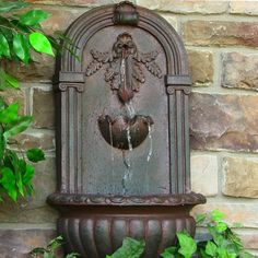 Sunnydaze Decor Florence Outdoor Wall Fountain