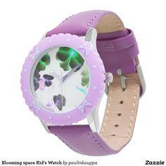 Shop Pink Purple Flower Watch created by WatchesbyThomas.