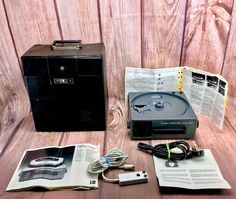 Kodak Carousel S-AV 1000 Projector With Slide Change Remote KODAK CASE BOOKS Projectors For Sale, Carousel, Remote, Change, Books, Ebay, Libros, Book, Carousels