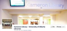 https://www.facebook.com/pages/Cameron-Library-University-of-Alberta-Libraries/19017437856