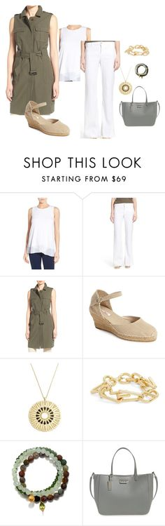 """""""White Denim"""" by herstyleandgrace on Polyvore featuring Vince Camuto, NYDJ, Chelsea28, Toni Pons, House of Harlow 1960, Carven, Satya Jewelry and ZAC Zac Posen"""