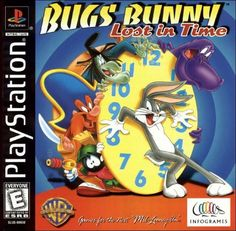 Bugs Bunny: Lost in Time for PlayStation 1 @ www.thegamingwarehouse.com/bugs-bunny-lost-in-time-for-ps1-used/
