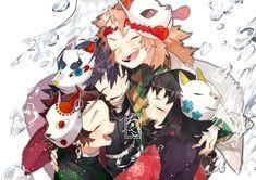 Demon Slayer, Slayer Anime, Fan Anime, Anime Demon, Kawaii Cute, Haikyuu, Background S, Fan Art, Animation