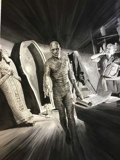 Superstar artist Alex Ross reveals first look at his Universal Monsters art series | Blastr