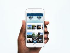 Explore on Instagram by Ryan O'Rourke—The Best iPhone Mockups → store.ramotion.com