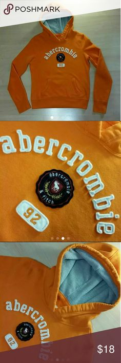 Abercrombie & Finch hoodie sweatshirt kids Sweatshirt is in excellent preowned condition looking next to New.... No piling.  Coming to you clean ready-to-wear from a smoke-free home.  Bundle and save Reasonable offers are always welcome! Abercrombie & Fitch Tops Sweatshirts & Hoodies