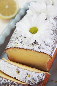 Recipes cake lemon 54 ideas for 2019 Lemon Recipes, Sweet Recipes, Cake Recipes, Dessert Recipes, Food Cakes, Cupcake Cakes, Sweet Bread, Let Them Eat Cake, Yummy Cakes