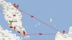 itinerario 2 settimane malesia - kuala lumpur, malacca, singapore, borneo, isole perhentian