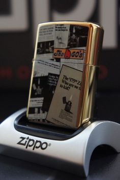 ZIPPO LIGHTER 24K GOLD PLATED RARE CHOICE COLLECTOR DECADES THE 60'S VINTAGE  RARE & UNUSUAL ZIPPO LIGHTERS, CASES, AND ACCESSORIES  From easyonthewedge2011