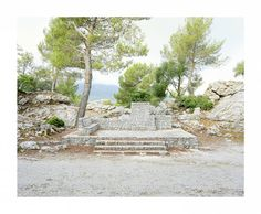 Stone Platform Mallorca 2015.  #stones #platform #stage #sociallandscape #manmade #anthropogenic #uncommonplaces #mallorca #spain #documentaryinstyle #analog #mediumformat #6x7 #filmsnotdead #staybrokeshootfilm #buyfilmnotmegapixels #istillshootfilm #mamiya7ii #kodakportra400 #architecture #landscape #newtopographics #nopeople #nofilter by teja_sauer