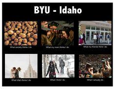 Byu- Idaho.  BYU is Loved at www.MormonFavorites.com