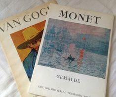 The art books (van gogh) (monet) Monet, Labo Photo, Kunstjournal Inspiration, Art Hoe Aesthetic, Aesthetic Grunge Tumblr, Aesthetic Pictures, Wall Collage, Van Gogh, Les Oeuvres