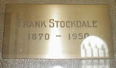 "Frank Stockdale - Actor. He appeared in silent films, including ""The Naming of the Rawhide Queen"" (1913), ""Snakeville's Most Popular Lady"" (1914), ""Broncho Billy's Sentence"" (1915), and Charlie Chaplin's classic ""The Gold Rush"" in 1925. He was the brother of prolific actor Carl Stockdale."