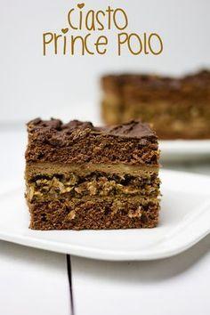 Ciasto prince polo to pyszny przekładaniec czekoladowo - orzechowy. Wygląda bardzo efektownie i smakuje wspaniale. Nada się na wszelkiego rodzaju okazje ta