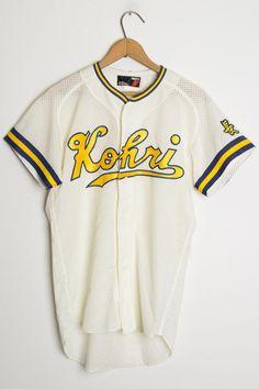 93086ed2a9 Japanese Baseball Jersey 122 - Ragstock  baseball baseball jersey outfit  men  baseballuniforms