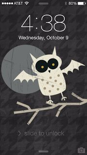 Stampinjul-Julie Davidse Stampin' Up Halloween iPhone Wallpaper