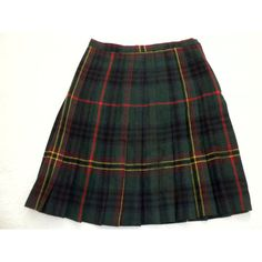 Plaid Pleated Skirt / Preppy / Green & Blue Tartan Plaid / Wool /... (€30) ❤ liked on Polyvore featuring skirts, bottoms, plaid, saias, blue skirts, green plaid skirt, wool skirt, wool pleated skirt and 80s skirts