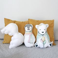 Nos encantan los nuevos cojines de animalitos de BelandSoph.com! #decoracioninfantil http://bit.ly/18ImSgn