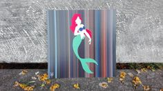 This cinemagraph shows the character Ariel from the film The Little Mermaid on a background of the colours of the film. Cinemagraph, Disney Dreams, The Little Mermaid, Ariel, Colours, Film, Character, Movie, Film Stock