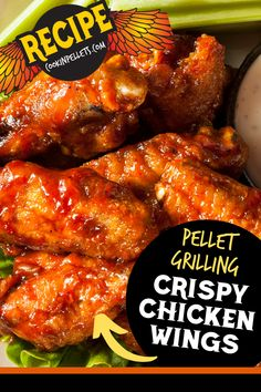 Crispy Chicken Wings on the Pellet Grill. This chicken wings recipe is perfect for game day or any other day you have a smoked chicken wings craving! These BBQ hacks will give you chicken wings with crispy skin two different ways. Perfect every time! Grilled Chicken Wings, Smoked Chicken, Grilled Chicken Recipes, Chicken Wing Recipes, Chicken Skin, Pellet Grill Recipes, Pork Roast Recipes, Grilling Recipes, Grilling Tips