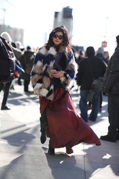 Pin for Later: Retour Sur les Meilleurs Looks Street Style de la Fashion Week de New York Jour 3