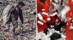 Bildergebnis für arme menschen reiche menschen