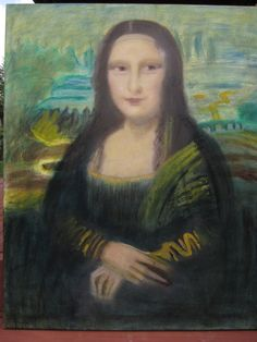 My version of the Mona Lisa.