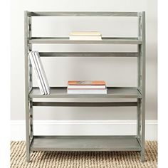 Safavieh American Home Collection Natalie Ash Grey Low Bookcase Safavieh http://www.amazon.com $145